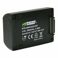 Wasabi Power Extended Battery for GoPro HERO4, HERO3+, HERO3 (2500mAh)