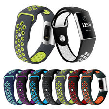 Sport Silicone Replacement Watch Band Bracelet Strap Belt For Fitbit Charge 3