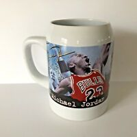 Michael Jordan #23 Chicago Bulls NBA Upper Deck Mug Stein Coffee Cup Tankard