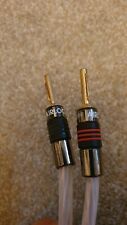 QED  RUBY ANNIVERSARY EVOLUTION SPEAKER CABLES 2x 5m (Pair) Terminated