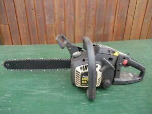 "Vintage McCULLOCH POWER MAC PM325AV-16 Chainsaw Chain Saw with 16"" Bar"
