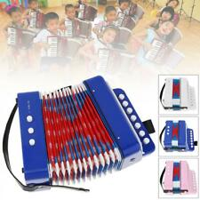 Mini Kids Accordion 7-Key 2 Bass Educational Childrens Instrument Band Gift Toy