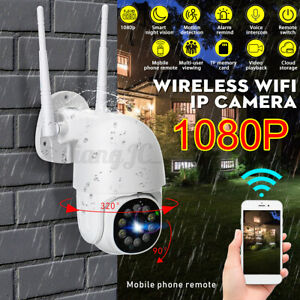 1080P 360° Wireless Smart Camera Wifi IP PIR Alarm Monitor Security Waterproof