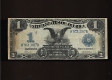 1899 $1 One Dollar Black Eagle Silver Certificate Large Note