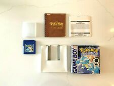 Pokemon Blue Gameboy Color Colour Game, EU Version Boxed and Complete - RRP £100