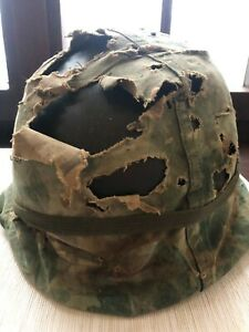 Stahlhelm US Army M1 (Vietnam war) Helmglocke, Innenhelm + Cover, Steel Helmet