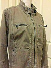 Ralph Lauren Jeans Co Women's Green Denim Jacket Size 16W