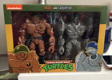 New ListingTeenage Mutant Ninja Turtles Neca Traag And Granitor 2-Pack