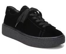 Vince Neela Womens Lace Up Black Sneakers Sz 8.5 3658