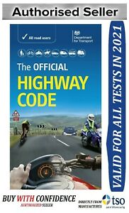 Highway Code Book UK Road Traffic Signs Rules & Regulation Theory Practical Test