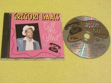 Gregory Isaacs Call Me Collect CD Album 1990 (CD 3067) Dancehall Reggae Lovers