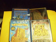 (4) Monty Python Comedy Dvd Lot: Holy Grail Meaning of Life Life of Brian & More
