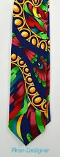 "Rush Limbaugh No Boundaries Collection Silk Tie hand sewn 57"" chain NEW Vintage"