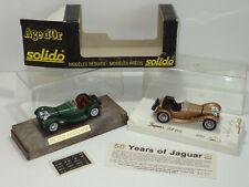 Solido 4002 JAGUAR SS100 LOT OF 2 ( 284 )