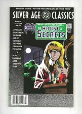 Silver Age Classics House of Secrets #92 1st Swamp Thing, 9.2 NM-, 1992 DC