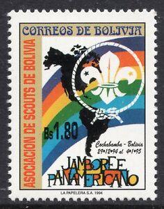 1065 - Bolivia 1994 - Pan-American Scout Jamboree - Cochabamba - MNH Set