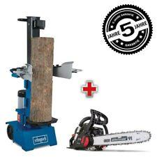 Scheppach Holzspalter HL1000V 10 T stehend 400V bis 1050mm CSP42PRO 40cm Oregon