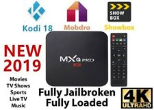 Mxq Pro 4K S905W Ultra Hd 3D 64Bit Android 7.1 Quad Core Smart Tv Box Kodi 18