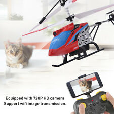 JX03 2.4G 4CH HD Camera RC Helicopter USB Charging WiFi Image Transmiss