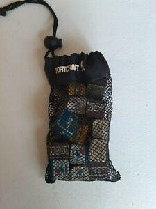 Sportcraft cinch sack of billiards chalk 14 pieces lightly used