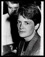 Lot of (10) 1980s MICHAEL J FOX & HOWIE MANDEL Vintage Original Photos