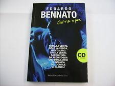 EDOARDO BENNATO - COSI' E' SE VI PARE - LIBRO 2008 NUOVO - CON ALLEGATO CD