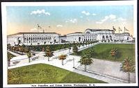 1920's Postcard New Post Office & Union Station Washington DC