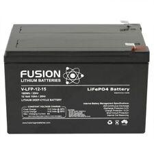 12v 15ah Fusion Lithium Deep Cycle UPS Lifepo4 Battery