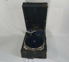 Decca The Salon 130 Gramophone Portable Wind up Record Player 1930's