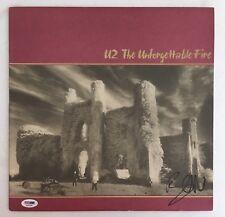 Bono Signed Autographed U2 The Unforgettable Fire Vinyl Album Rare Psa/Dna