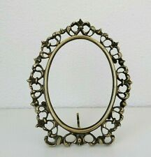 ANTIQUE 19TH CENTURY PICTURE FRAME IN BRONZE ORNAMENT
