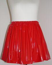 Lack-Rock Mini Gr.48/50/52/54/56 - PVC-skirt mini UK 24,26,28,30 US 2X,3X,4X