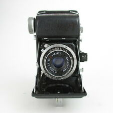 Belca Beltica Tessar Q1 3,5/50 red T defekt Balgenkamera folding camera