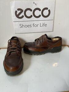 Ecco Track 25 M Waterproof Walking/Casual Leather Shoes Size UK 9 EU 43
