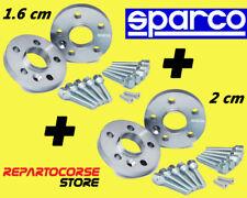 DISTANZIALI SPARCO 16 + 20 mm - ALFA 147 - 156 - GT - GTV - SPIDER