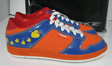 REEBOK  -RBK GET LOW BASKETBALL MEN ORANGE/BLUE/YELLOW   SIZE   10