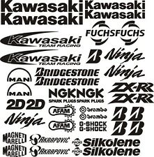 MOTORBIKE ZX6R ZX7R ZX9R RACE DECAL STICKER GRAPHICS