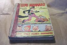 IL LUPO MANNARO - edizioni walt disney - mondadori agosto 1937 - prima edizione