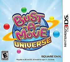 Bust-A-Move Universe (Nintendo 3DS, 2011) Video Game Brand New Sealed