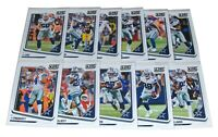 Score 2018 DALLAS COWBOYS Football Trading Cards Team Set NFL