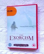 THE EXORCISM OF EMILY ROSE- THE UNSEEN VERSION (DVD) R-2, LIKE NEW, FREE POSTAGE