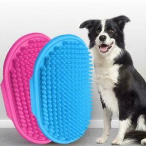 Pet Cat Bath Dog Brushs Combs Rubber Glove Hair Fur Grooming Massage W0I4