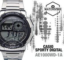 Casio Standard Digital Sporty Design Watch AE1000WD-1A