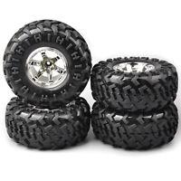 4Pcs 12mm Hex 1:10 Bigfoot Wheel&tires For RC Monster Truck Crawler Model Car