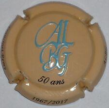Capsule de Champagne : New !!! FRANCINET ,n°22 , 50 ans ALBG , estampée relief !