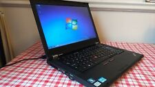 Lenovo ThinkPad T420 Laptop core i5 2.5Ghz 4GB 320GB Webcam Windows 7 Office AVG