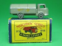 Matchbox Lesney No.38a Karrier Bantam Refuse Truck In 'B' Box (VERY RARE BROWN)