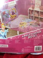 Disney Princess Adventure Rules 4 PC Toddler Bedding Set