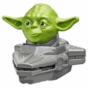 New SEALED Disney YODA Star Wars FLYING SPACESHIP Kids TOY 2021 McDonald's HAPPY