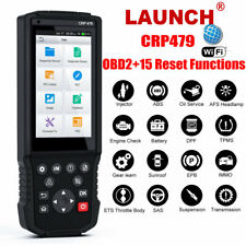 LAUNCH X431 CRP479 OBD2 Automotive Scanner ABS TPMS DPF Oil 15 Reset Function